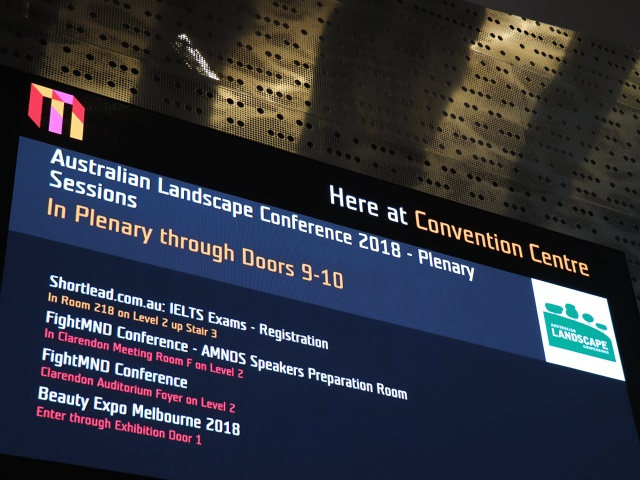 ALC at Melbourne Convention Centre