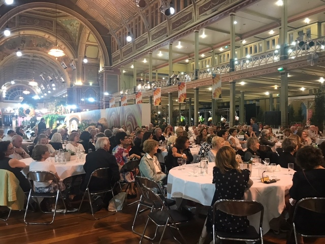 Speakers' Dinner at Royal Exhibition Building